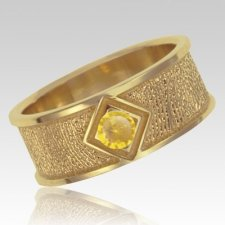 November Birthstone 14k Yellow Gold Ring Print Keepsake