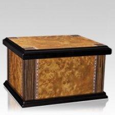 Ocaso Wood Cremation Urn