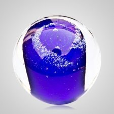 Ocean Cremation Glass Weight