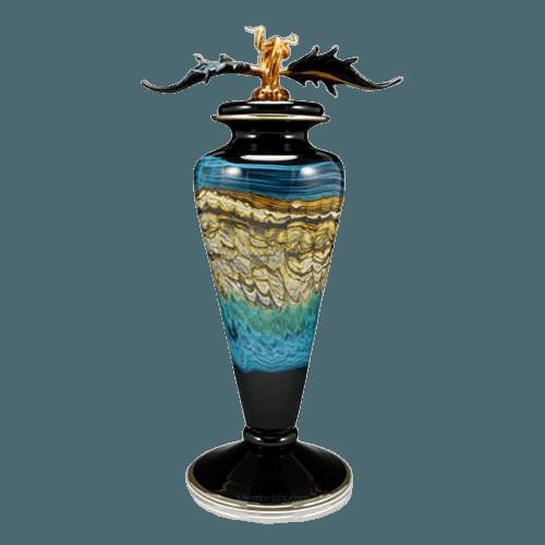 Ocean Sargo Art Cremation Urn
