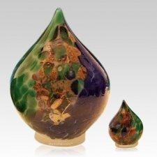 Ocean Tear Glass Pet Urns