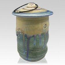 Ocean Temple Cremation Urn