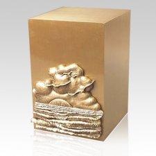 Oceanfront Bronze Cremation Urn