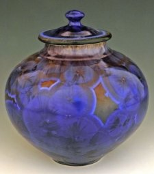 Oceanic Light Art Cremation Urn
