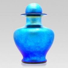 Oceanic Glass Cremation Urns