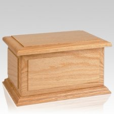 Ohio Wood Cremation Urn