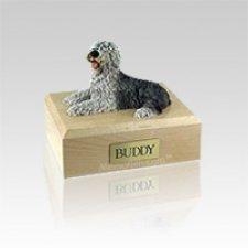 Old English Sheepdog Small Dog Urn