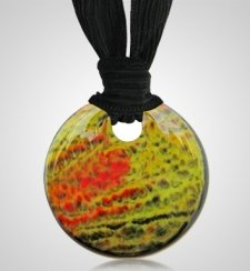 Olive Cremation Ashes Pendants