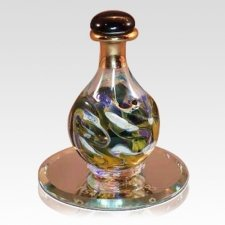Olive Marble Tear Bottle