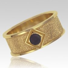 Onyx 14k Yellow Gold Ring Print Keepsake