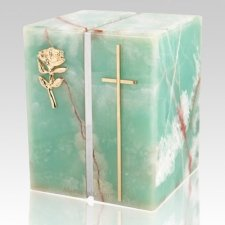 Onyx Forever Silver Urn for Two