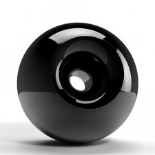 Onyx Orb Cremation Urns