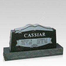 Open Bible Grave Headstone