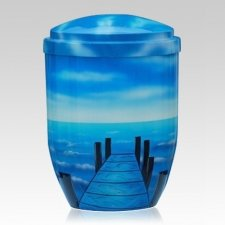 Open Sea Metal Cremation Urn