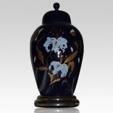 Orchid Blue Keepsake Urn