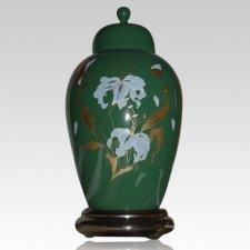 Orchid Green Keepsake Urn