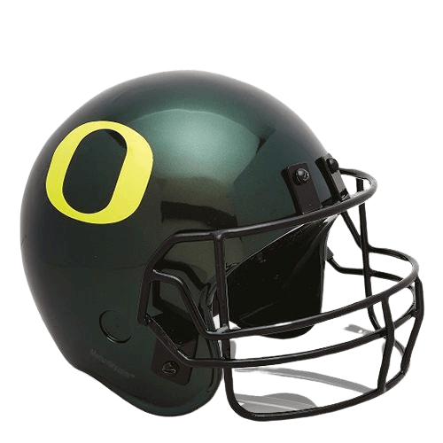 Oregon Ducks Football Helmet Urn
