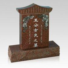 Oriental Memorial Grave Headstone