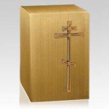 Orthodox Bronze Cremation Urn