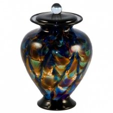 Oscuro Glass Pet Cremation Urn