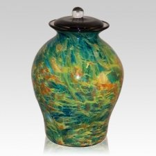 Osmosis Glass Cremation Urn