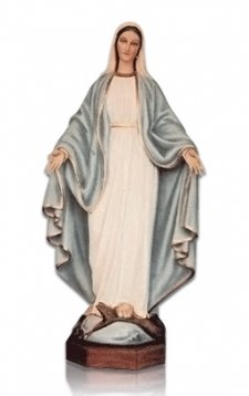 Our Lady of Lourdes Medium Fiberglass Statues
