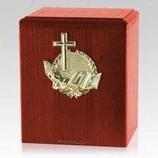 Our Prayer Cherry Cremation Urn
