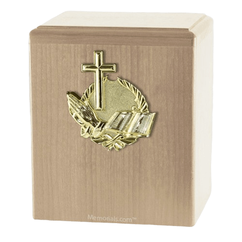 Our Prayer Maple Cremation Urn