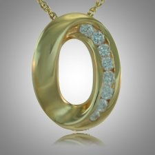 Oval Stone Keepsake Jewelry II