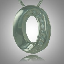 Oval Stone Keepsake Jewelry