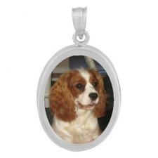 Oval Photo Pendants