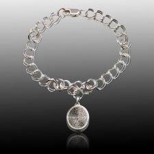 Ovalo Cremation Print Bracelets