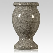 Oxford Gray Granite Vase