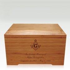 Mason Bamboo Distinction Green Cremation Urn