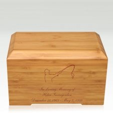 Fisherman Bamboo Essence Cremation Urn