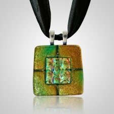Rusty Green Memorial Ashes Pendants
