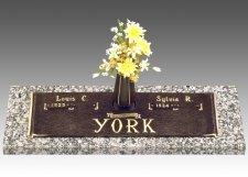 Classic Devotion Grave Marker
