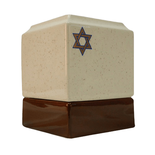 Jewish Religious Cremation Urn