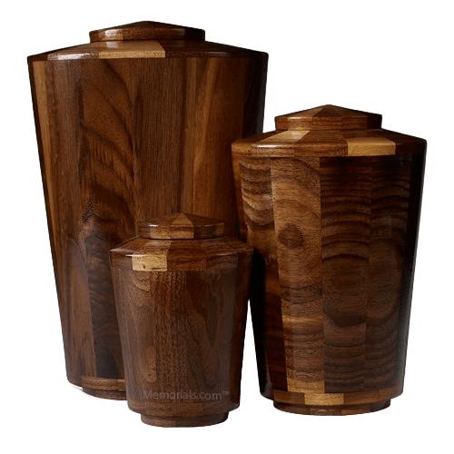 Paderborn Wood Cremation Urns