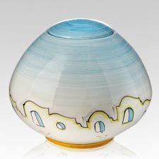 Paesano Ceramic Cremation Urn