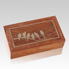 Pajaritos Caribbean Cremation Urn