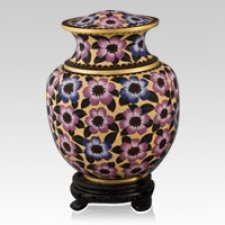 Palace Bloom Cloisonne Urn