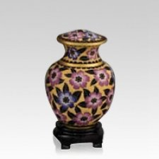 Palace Bloom Medium Cloisonne Urn