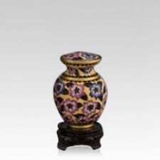 Palace Bloom Small Cloisonne Urn