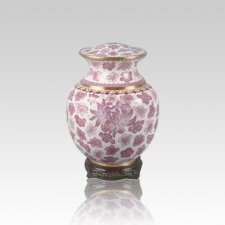 Palace Pink Small Cloisonne Urn