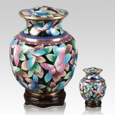 Palace Butterfly Cloisonne Cremation Urns