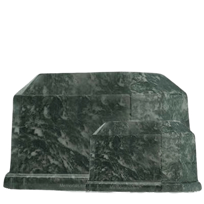 Palm Prism Marble Cremation Urns