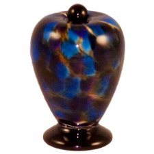 Panther Glass Pet Keepsake Urn