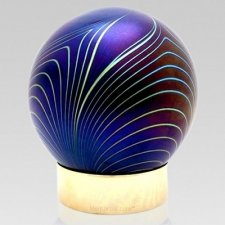 Paon Glass Keepsake Urn