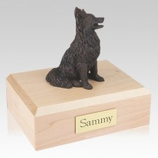 Papillon Bronze Dog Urns
